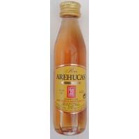 Arehucas - Ron Carta Oro brauner Rum 37,5% Vol. 50ml PET-Miniaturflasche hergestellt auf Gran Canaria - LAGERWARE