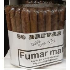 Doble Tres Brevas 50 Puros Zigarren 50 Stück hergestellt auf Gran Canaria - LAGERWARE