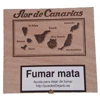 Flor de Canarias - Coronas 10 Puros Zigarren in Holzschatulle hergestellt auf Teneriffa - LAGERWARE